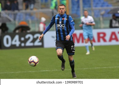5.05.2019. Stadio Olimpico, Rome, Italy. Serie A. JOSIP ILICIC in action during the match Italy Serie A league, SS LAZIO VS ATALANTA  at Stadio Olimpico in Rome.