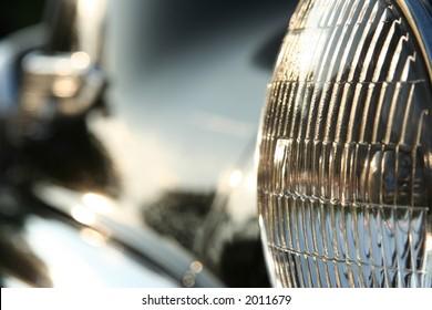 50s car headlight