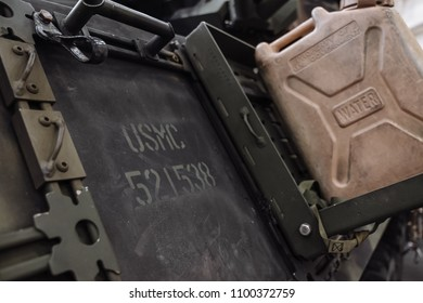 5/28/18- New York,NY - In New York City, the Navy has arrived.  It's fleet week on board the USS Arlington. Side of tank.