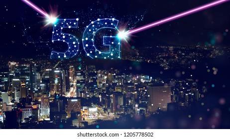 5g network mobile data transmission