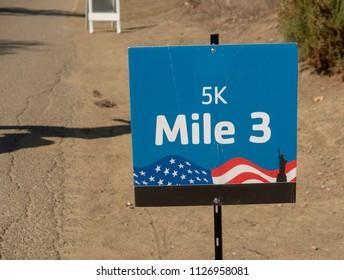 5k Mile Marker