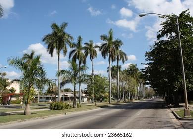 5th Avenue Street in Havana City, Cuba