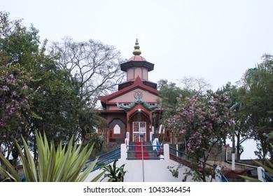 5th march 2018, Nagaon, Assam, India.  newly constructed Doul mandir of Bordowa, also called Bordowa than in Nagaon, Assam.