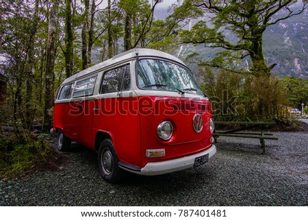 81a16f9290 5th Sep 2016 Red Volkswagen Van Stock Photo (Edit Now) 787401481 ...