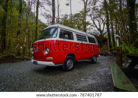 3514ec87ea 5th Sep 2016 Red Volkswagen Van Stock Photo (Edit Now) 787401787 ...