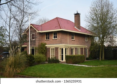 6 April 2019, Amstelveen, The Netherlands. Beautiful house in Amstelveen, a small town in the Netherlands.