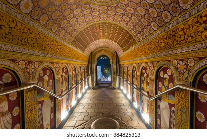 6 DEC 2013 ,Temple of the Tooth, Kandy, Sri Lanka .Temple of the Tooth is a Buddhist temple that houses the relic of the tooth of Buddha.