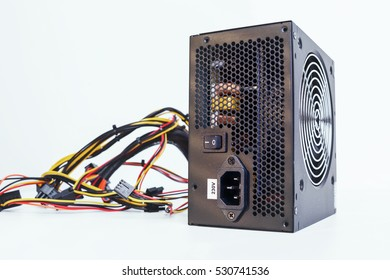 600w power supply with cables unit for full ATX tower pc