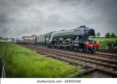 60103 'Flying Scotsman' at Colton Junction, York on the 4th of June, 2016 during one of its first runs after re building