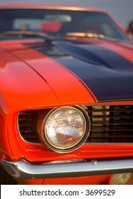 60s sports car head light
