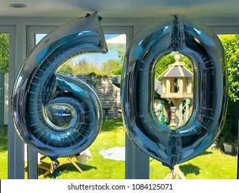 60th Birthday inflatable balloons