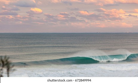 6th of June 2016 tropical low hits the Sunshine coast with several days of great swell with those periods the wind went offshore and created amazing surf.