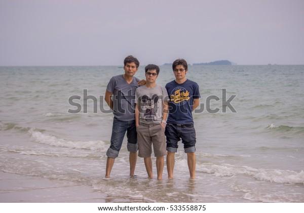 7 November 2016  Family holiday Suan Son Beach, Rayong, Thailand.