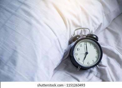 7 o'clock on wakeup