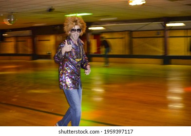 '70s Rollerskating Party at Roller Rink in Kentucky