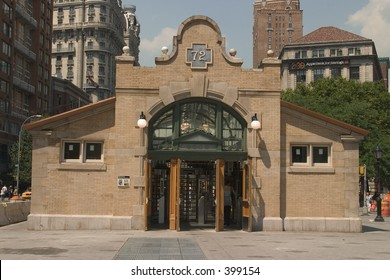 72nd Street Subway Stop