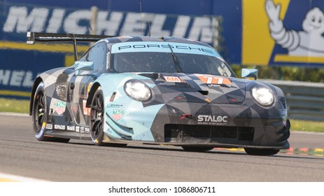 77, Christian Ried, Julien Andlauer, Matt Campbell, Dempsey-Proton Racing, Michelin, Porsche 911 Rsr, WEC, Total 6 Hours Of Spa-Francorchamps, Spa-Francorchamps Circuit, Belgium, May 5 2018