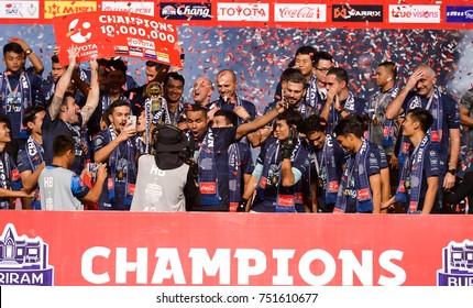 8 November 2017, Buriram United 4 - 0 Police Tero FC, Champions Day, I-Mobile Stadium, Buriram, Thailand