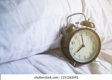 8 o'clock on wakeup