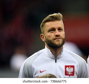 8 OCTOBER, 2017 - WARSAW, POLAND: Football World Cup Rusia 2018 qualification match Poland - Montenegroo/p Jakub Blaszczykowski (Poland)