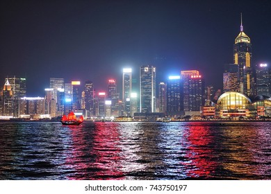 8.00 PM on 13 October 2017 at Victoria Habour, Tsim Sha Tsui, Hongkong has A Symphony of Lights that is the world's largest permanent light and sound show according to Guinness World Records