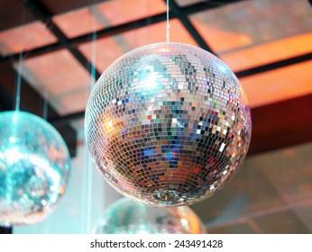 80s Party Disco Ball