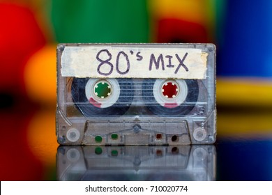 The 80'sMixed Tape. An eighties mixed tape.