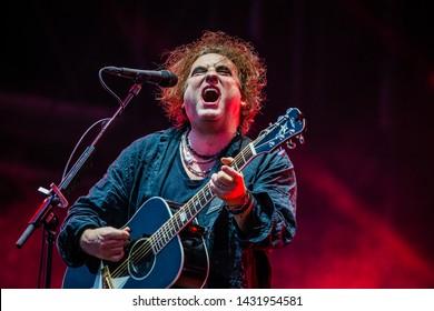 8-10 June 2019. Pinkpop Festival, Landgraaf, The Netherlands. Concert of The Cure