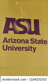 8/25/18 Tempe Arizona ASU Arizona State University sign