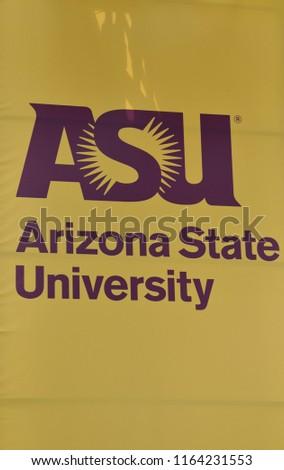 82518 Tempe Arizona Asu Arizona State Stock Photo Edit Now