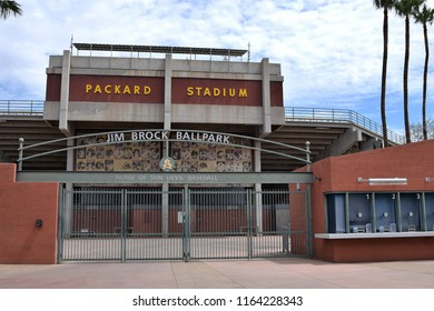 8/25/18 Tempe Arizona Packard Stadium and Jim Brock Field for ASU baseball