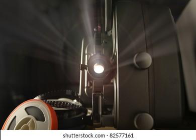 8mm Film Projector