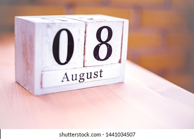 8th of August - August 8 - Birthday - International Day - National Day