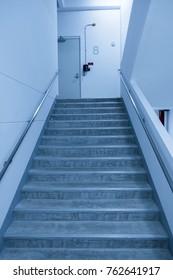 8th floor fire escape staircase