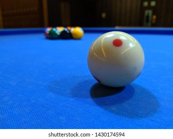 The 9 Ball Biliard ready to play.