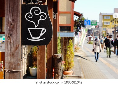 9 June, 2021.Nikko City, Tochigi Prefecture, Japan. Townscape of sightseeing spots around Tobu Nikko Station. - Shutterstock ID 1988681342