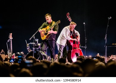 9 May 2019. Ziggo Dome, Amsterdam, The Netherlands. Concert of Mumford & Sons