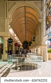 9 November 2015, MYER shopping mall corridor, Perth, Western Australia.