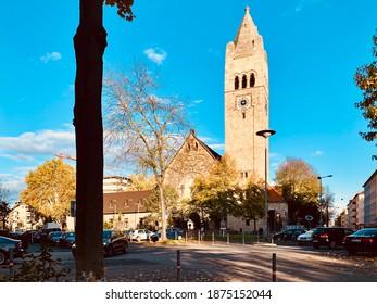 9 November 2019. Mannheim, Germany. Johanniskirche Church