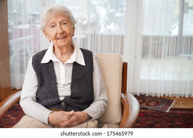 90 year old lady at home