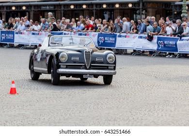 90th Millemiglia - International Classic Cars open street race - 17-05-2017, Verona. Italy