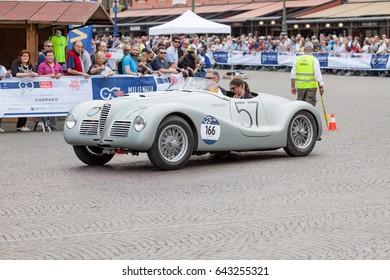 90th Millemiglia - International Classic Cars open street race - 17-05-2017, Verona. Italy.