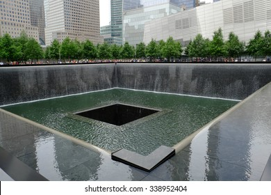 9-11 memorial in New York