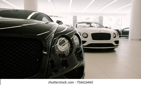 9/29/17 - New York, NY - Bentley  Continental GT Supersports and convertible model.