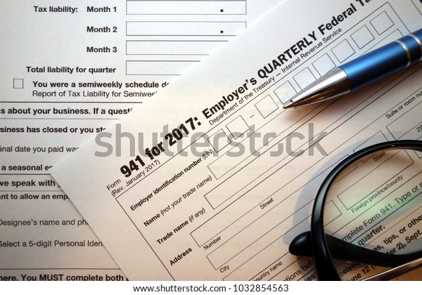 941 form calculator  10 Federal Tax Form Closeup Stock Photo (Edit Now) 10