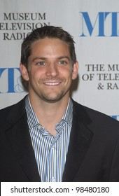 98 Degrees star JEFF TIMMONS at the Museum of Television & Radio Gala, in Beverly Hills. November 10, 2003  Paul Smith / Featureflash