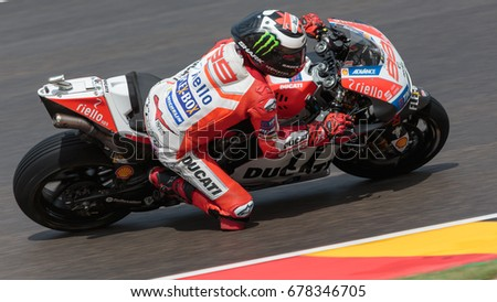99 Jorge LORENZO SPA Ducati Team MotoGP 2017 GoPro