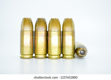 9mm ammunition,White backdrop