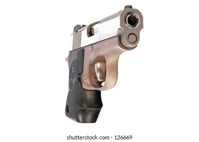 9mm semi automatic pistol.