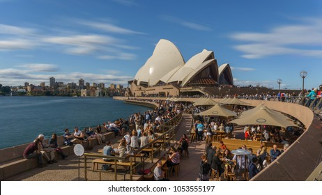 9th Sep 2016, Sydney, an Opera House activities in weekend, people hang out with friend and families.